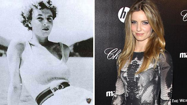 Muriel Wright, left, and Annabelle Wallis