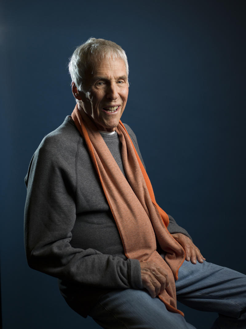 """This May 6, 2013 photo shows composer Burt Bacharach posing for a portrait in promotion of his memoir, """"Anyone Who Had A Heart: My Life and Music,"""" in New York. (Photo by Scott Gries/Invision/AP)"""