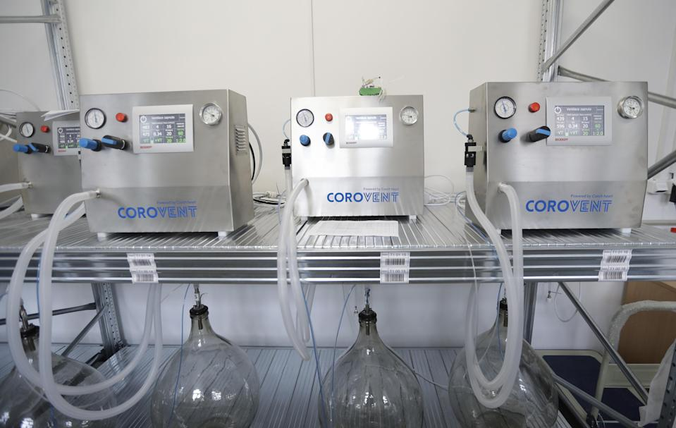 Lung ventilators manufactured in Trebic, Czech Republic, were being tested June 17. A team of 30 developed a fully functional ventilator, named Corovent, in just days. They secured the necessary finances through crowdfunding, approached a leading expert in the field with a request for help and gave him all possible support.