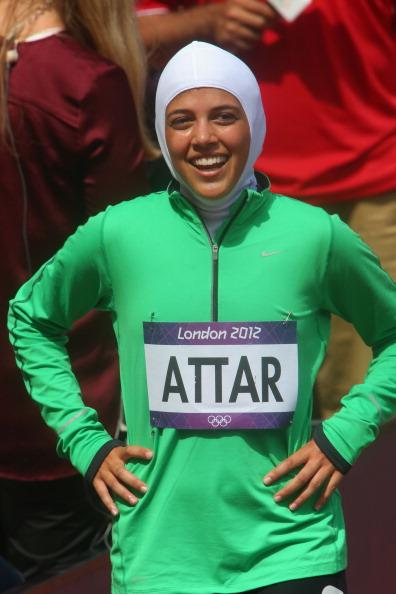 Attar was born in Escondido, California in 1993, to Judy and Amer. She graduated from Escondido High School in 2010, having competed for the school in cross country running.