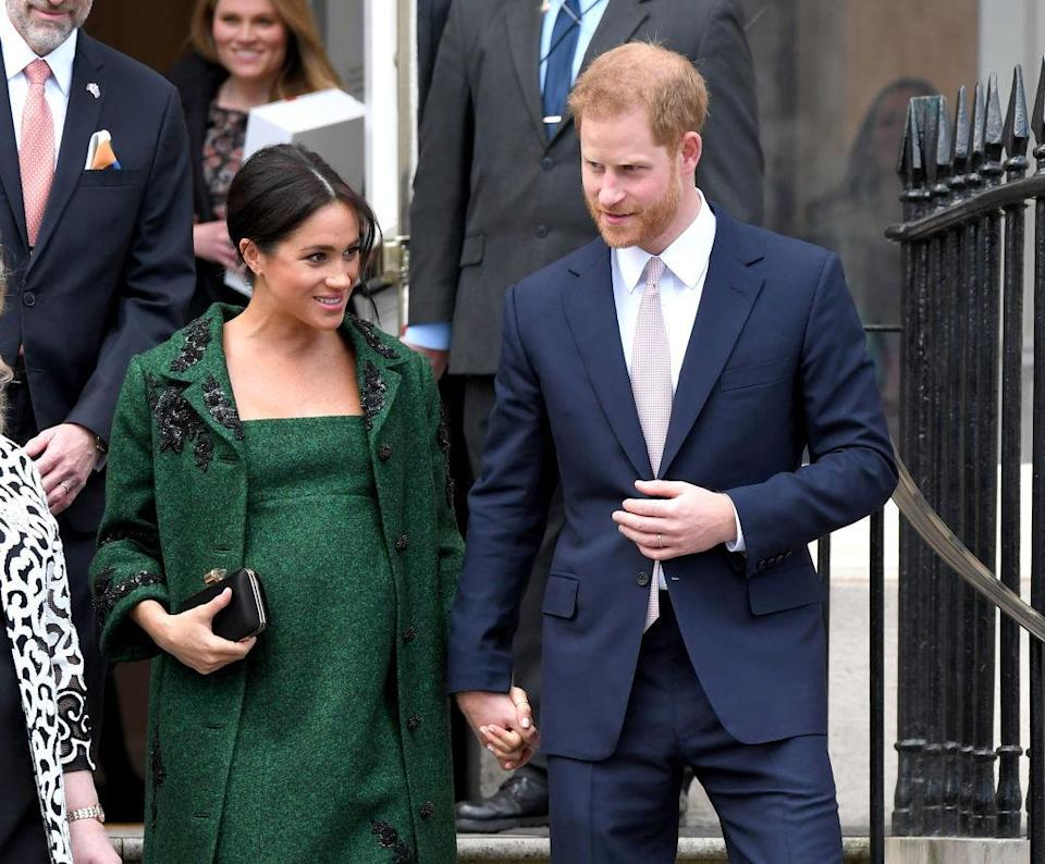 The Duke and Duchess of Sussex are rumoured to be raising their baby as vegan [Photo: Getty]