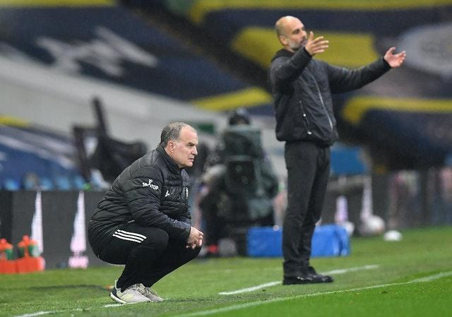Marcelo Bielsa and Pep Guardiola watched their teams put on a show