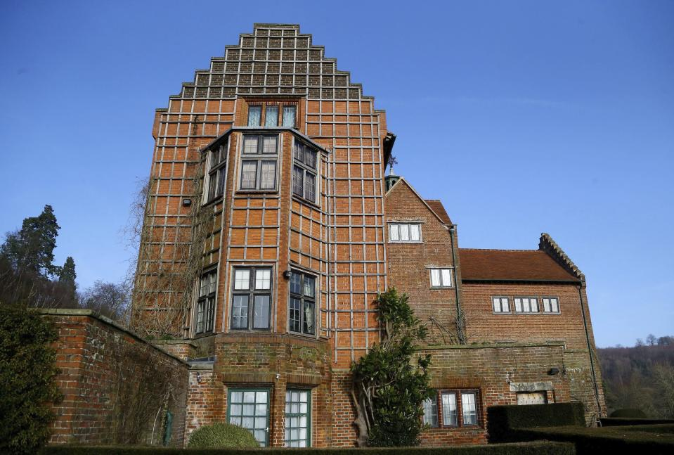 FILE - This Jan. 23, 2015 file photo shows Winston Churchill's family home at Chartwell, England, which is cared for by the National Trust. Britain's National Trust which looks after hundreds of the country's well-loved historic sites, published a report Tuesday Sept. 22, 2020, said 93 of its sites have connections with aspects of the global slave trade or Britain's colonial history. Churchill led the administration of colonies and has been criticized for opposing Indian independence. (Gareth Fuller/PA via AP, File)