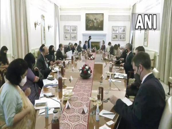 Foreign Secretary Harsh Vardhan Shringla and US Deputy Secretary of State Wendy R Sherman discussed Afghanistan and Pakistan during their meeting earlier today.