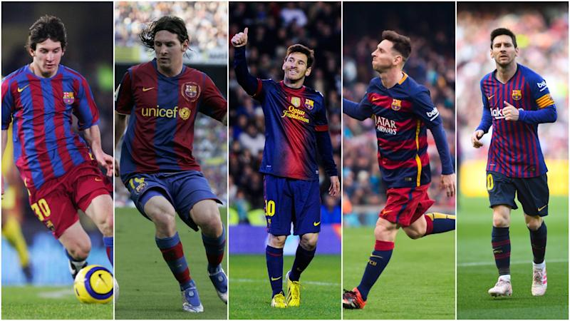 Messi at 32: The Barcelona star's achievements through the years