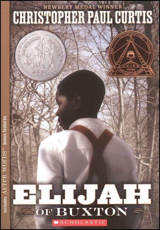 The protagonist of Christopher Paul Curtis' <i>Elijah of Buxton&nbsp;</i>is the first person born free in a small community of escaped slaves north of the Canadian border. But unexpected events draw him south, and&nbsp;slowly he begins to&nbsp;discover the truth of the enslaved life&nbsp;his family&nbsp;escaped, and how desperately he values his own freedom.
