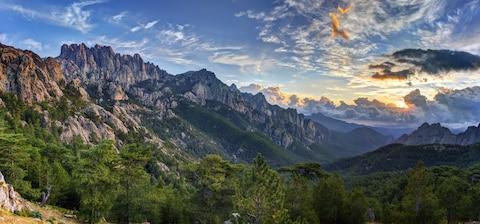 Mountainous Corsica - Credit: GETTY