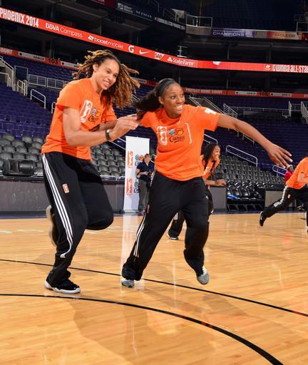 Griner, Johnson suspended record 7 games each by WNBA
