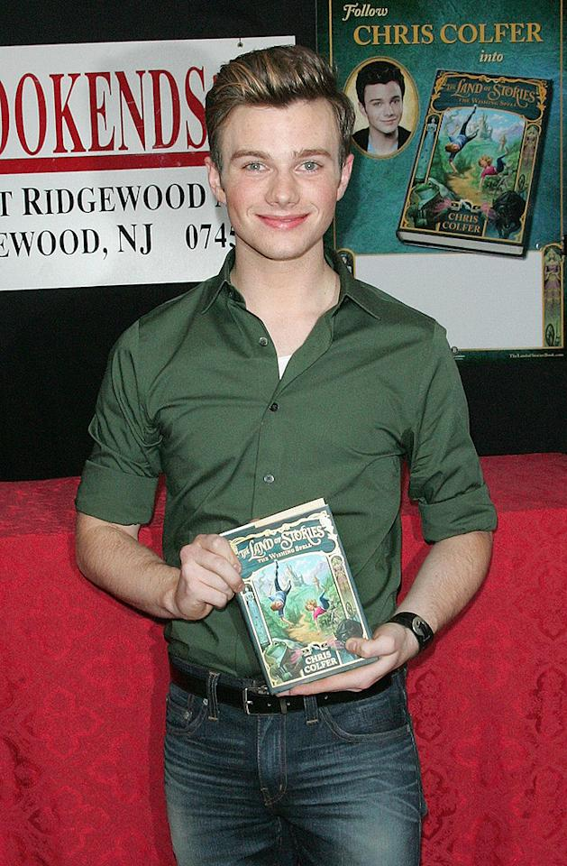 "Despite his young age, up-and-coming ""Glee"" actor Chris Colfer, 23, has already released a series of fantasy books for kid<i>s</i>. The ""Land of Stories"" tomes follow twins Connor and Alex as they are sucked into some of their favorite fairy tales. Much of the credit for Colfer's interest in kids books goes to J.K. Rowling, because he says some of his favorite childhood memories include going to the bookstore at midnight to get the latest book in the Harry Potter series. Credit: Jim Spellman/WireImage"
