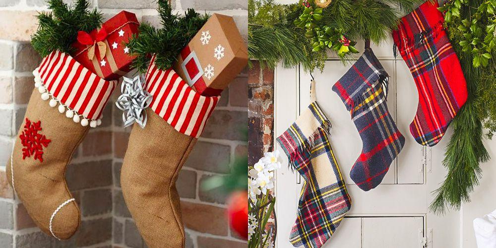 "<p>Transform your fireplace mantel into a festive display with these cute DIY Christmas stockings. Not only will they save you big bucks, but the kids will love helping you out. Feeling extra crafty this season? Keep it going with our <a rel=""nofollow"" href=""https://www.womansday.com/home/crafts-projects/g2019/diy-christmas-ornaments/"">DIY ornaments</a> and <a rel=""nofollow"" href=""https://www.womansday.com/home/crafts-projects/"">craft ideas</a>.<br></p>"