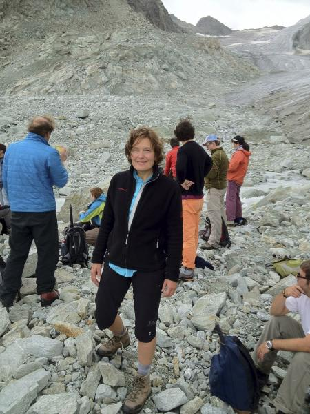"In this undated photo provided by her family, showing American 59-year-old molecular biologist Suzanne Eaton.  A state coroner on Wednesday, July 10, 2019, on the Greek island of Crete says that the body of a woman believed to be the missing American scientist had died as a result of a ""criminal act"" although her identity still has to be confirmed, after Eaton was reported missing last week. (AP Photo)"
