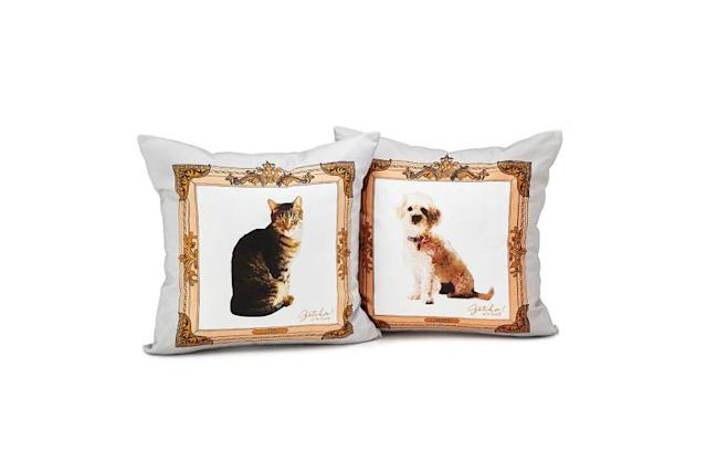 A whole nother way to cuddle up with a sweet pet. (Photo: Uncommon Goods)