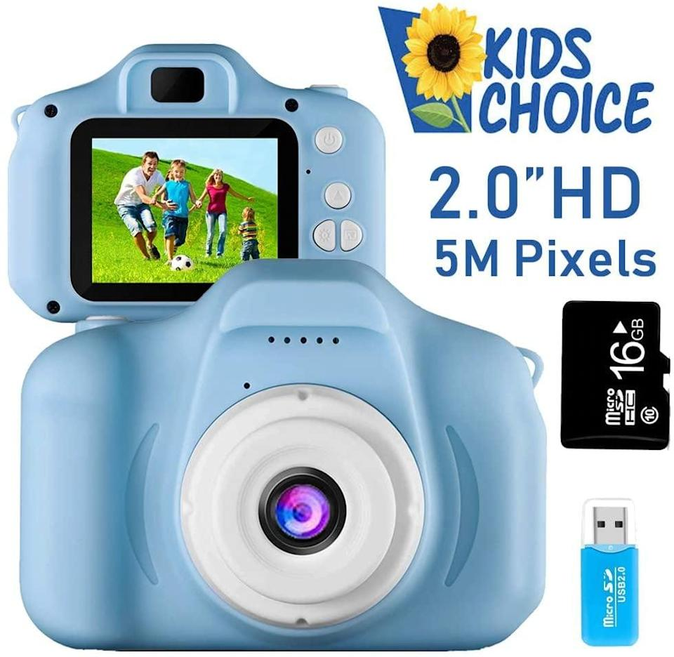 <p>They'll feel like a professional photographer with this <span>Coodoo Kids Camera Toy</span> ($22). It's an affordable gift that will keep them endlessly entertained.</p>