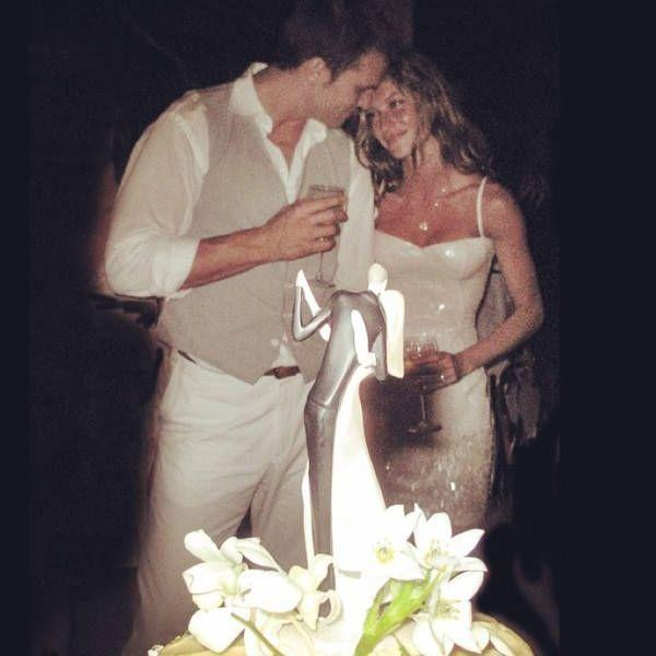 """<p>The wedding between Gisele Bundchen and Tom Brady took place on February 26, 2009 in Santa Monica, and the intimate ceremony was only attended by immediate family. """"We went back to the house and I barbecued aged New York strips. We had champagne, a cake, some ice cream. It was a great night,"""" Brady told <a href=""""http://people.com/celebrity/tom-brady-describes-his-perfect-wedding-to-gisele-bndchen/"""" rel=""""nofollow noopener"""" target=""""_blank"""" data-ylk=""""slk:People"""" class=""""link rapid-noclick-resp"""">People</a>. """"I think you always have this idea that weddings need to be 200 people, and you invite everybody, and I'm all for it if people want to do that, but I think there was really something special about just having our parents there.""""</p>"""