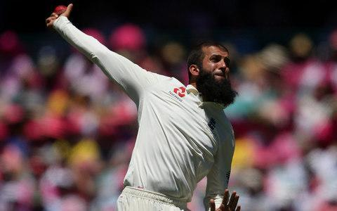 <span>Moeen was troubled by a finger injury during the Ashes</span> <span>Credit: AP </span>