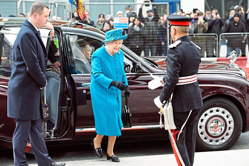 Shake-up: The Queen is said to have expressed concerns about her security: Carl Court/Getty Images