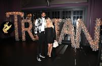 """<p>After days of speculation, Khloe Kardashian took to Instagram to reveal the moniker her and boyfriend Tristan Thompson have chosen for their baby daughter. """"Our little girl, True Thompson, has completely stolen our hearts and we are overwhelmed with LOVE,"""" the new mum captioned a snapshot of a room filled with pink balloons and flowers. """"Such a blessing to welcome this angel into the family! Mommy and Daddy loooooove you True!"""" Little True joins Stormi, Chicago, North, Saint and the various other, er, <a href=""""https://uk.style.yahoo.com/heres-meaning-behind-every-kardashian-slideshow-wp-112613898.html"""" data-ylk=""""slk:unique Kardashian/Jenner monikers.;outcm:mb_qualified_link;_E:mb_qualified_link;ct:story;"""" class=""""link rapid-noclick-resp yahoo-link"""">unique Kardashian/Jenner monikers. </a><em>[Photo: Getty]</em> </p>"""