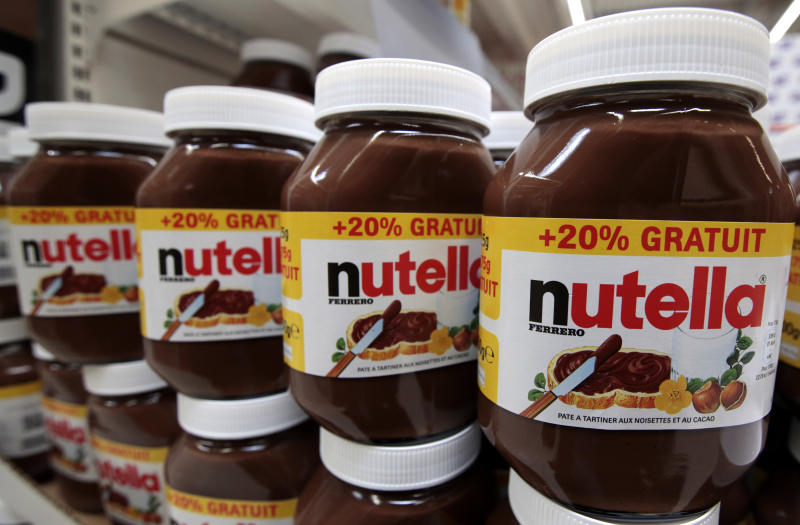 The French love Nutella, but apparently not as a baby name. (Eric Gaillard / Reuters)