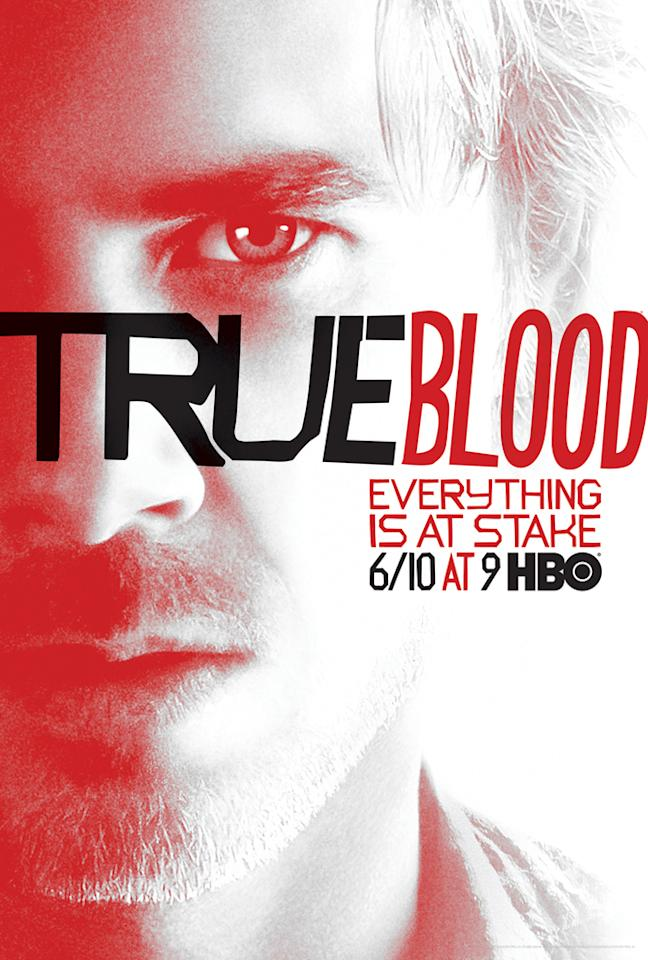 """True Blood"" Season 5 poster featuring Sam Merlotte (Sam Trammell)"