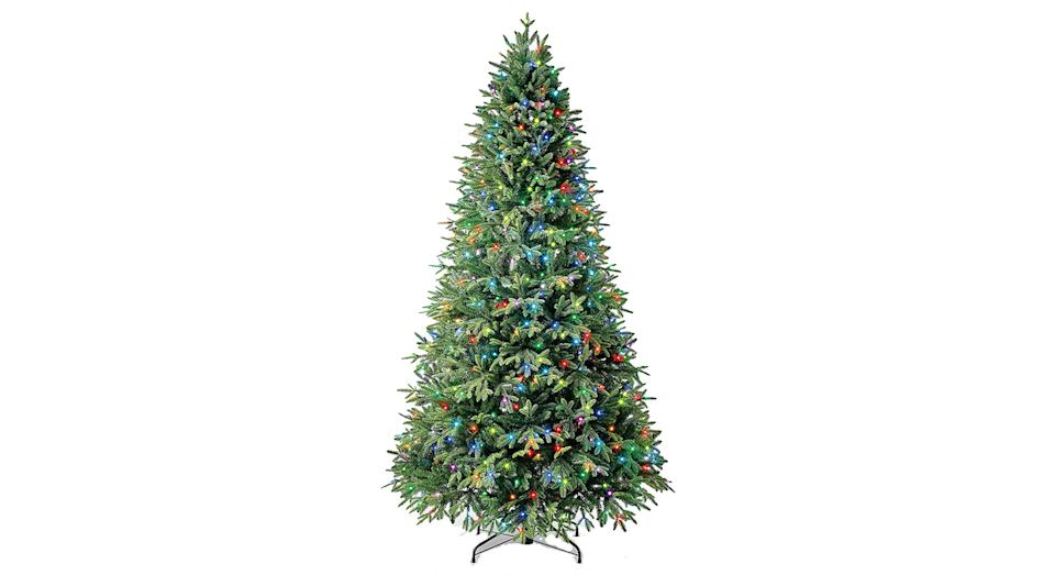 Evergreen Classic Holiday Symphony Rainbow Pre-Lit Christmas Tree