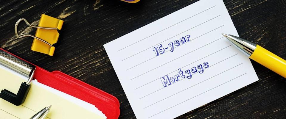 15 year mortgages