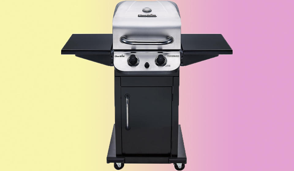 We can hear the sizzle of the steaks already. (Photo: Amazon)