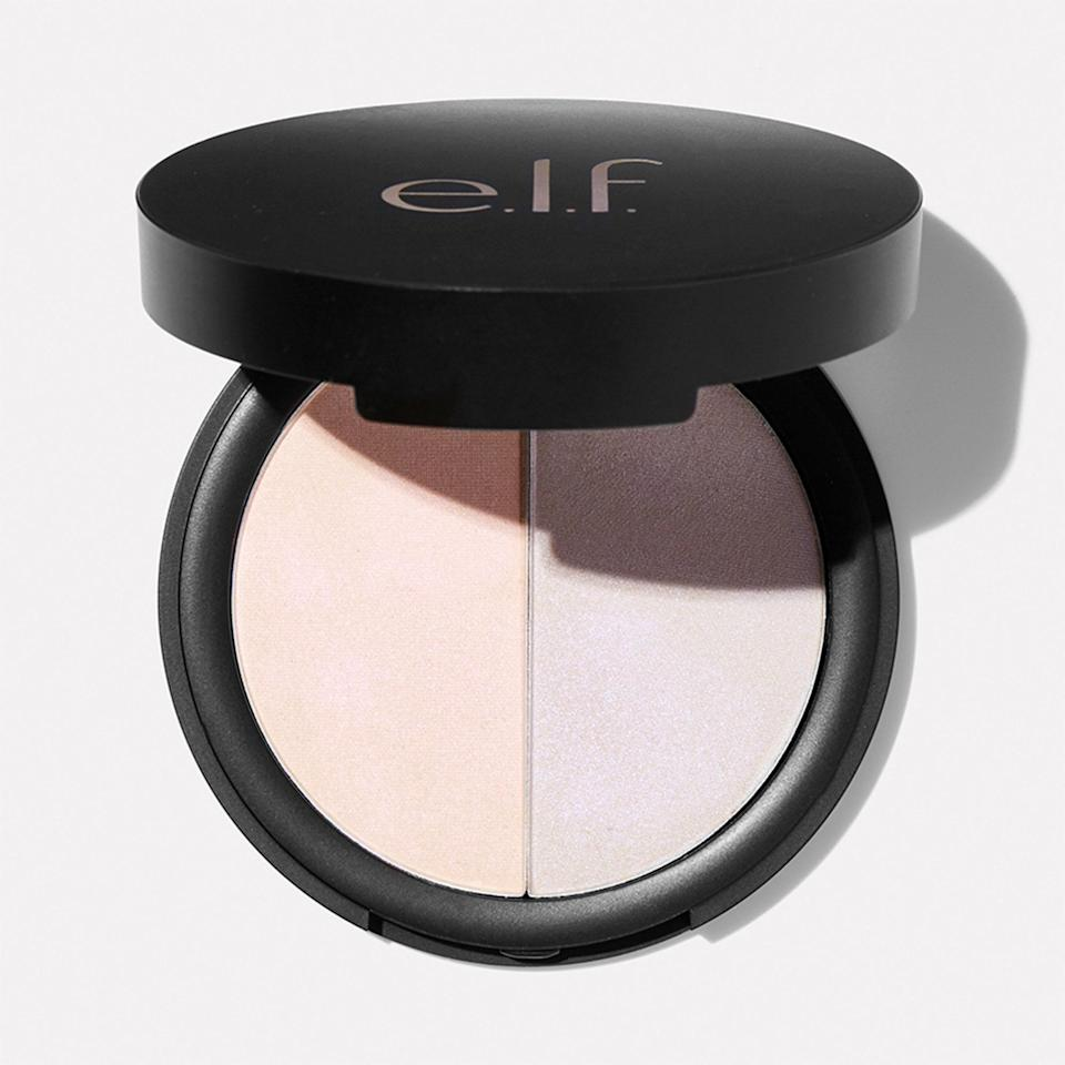 """<p>Not even E.L.F. is immune to the holographic makeup hype. These color-shifting powders may look petal pink and lilac in the pan, but when brushed onto cheekbones, they transform into a hot pink and sky blue.</p> <p><strong>$8</strong> (<a href=""""https://shop-links.co/1713464369480417128"""" rel=""""nofollow noopener"""" target=""""_blank"""" data-ylk=""""slk:Shop Now"""" class=""""link rapid-noclick-resp"""">Shop Now</a>)</p>"""