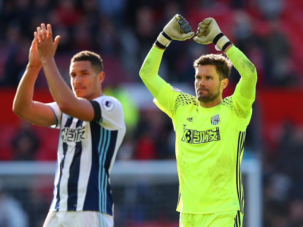 Ben Foster kept West Brom in the game (Getty)