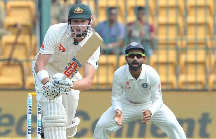 Matt Renshaw relishing soaking pressure at Bengaluru Test
