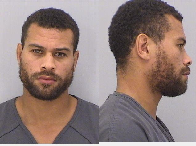 Abel Trujillo's mugshot in the Douglas County inmate database.