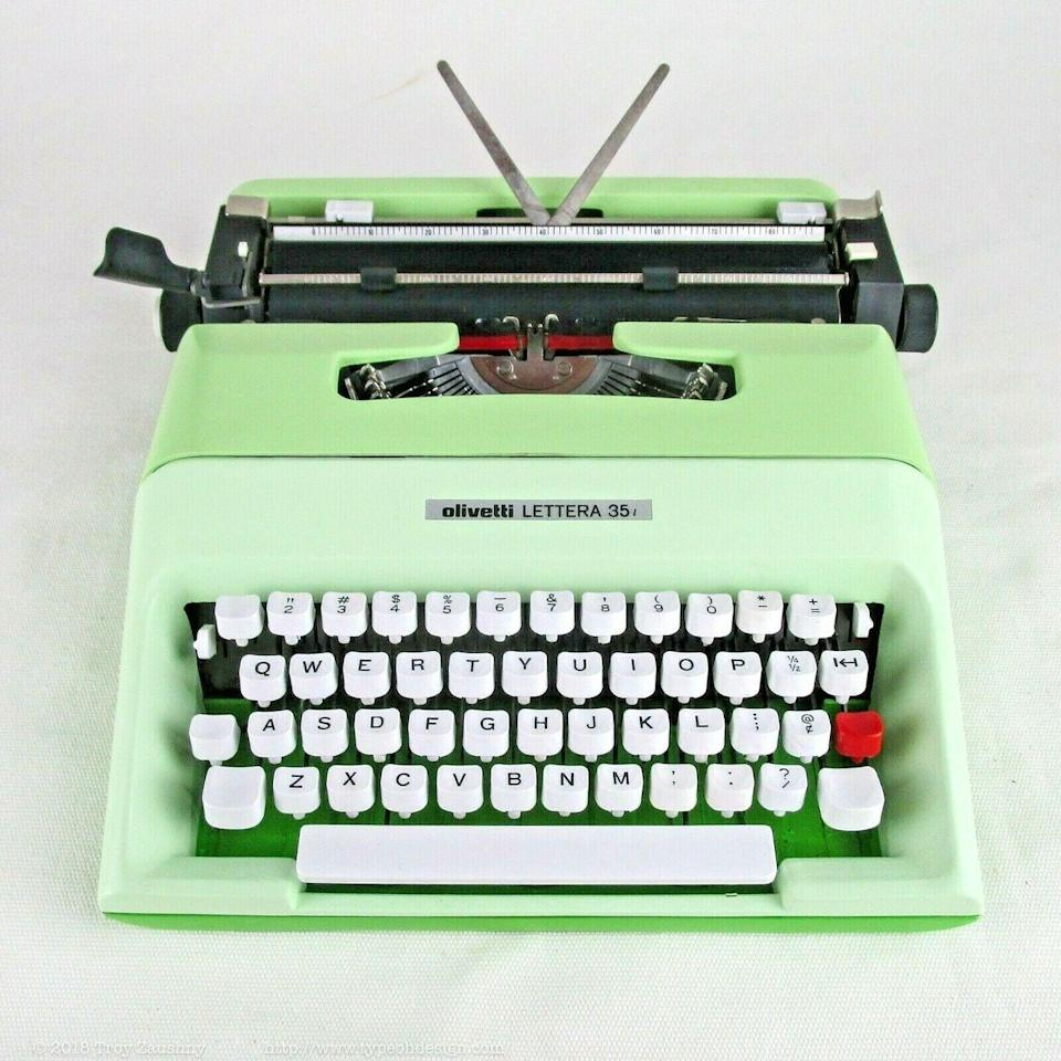 <p>Long before the days of keyboards, typewriters were a popular way to write just about anything. They've been rendered obsolete as technology has evolved, but collectors are shelling out big bucks for specific antique, vintage typewriter models. Electronic typewriters boomed in the late '70s. While the most valuable typewriters date back to the '40s, newer electronic ones are still worth a good amount if they are functional. </p><p><strong>What it's worth: </strong>$50-$1,200</p>