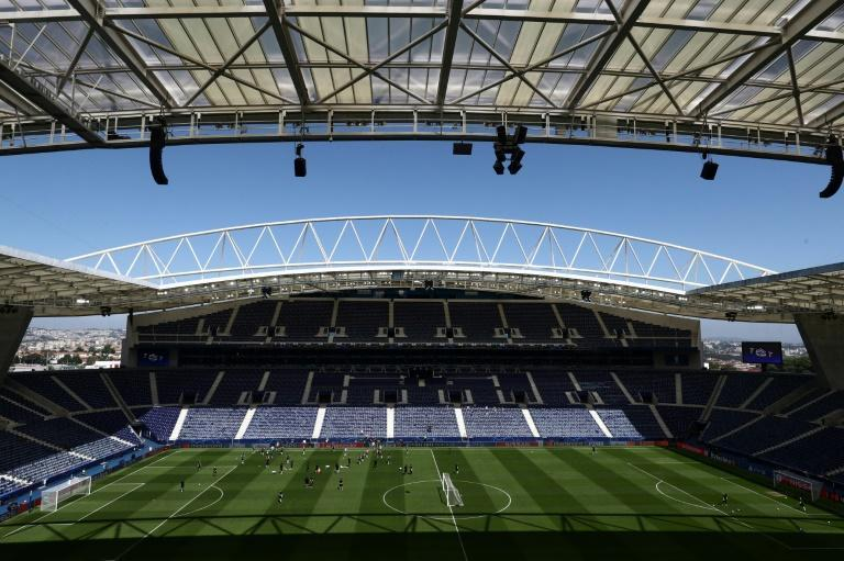 The Estadio do Dragao in Porto will host Saturday's Champions League final between Manchester City and Chelsea