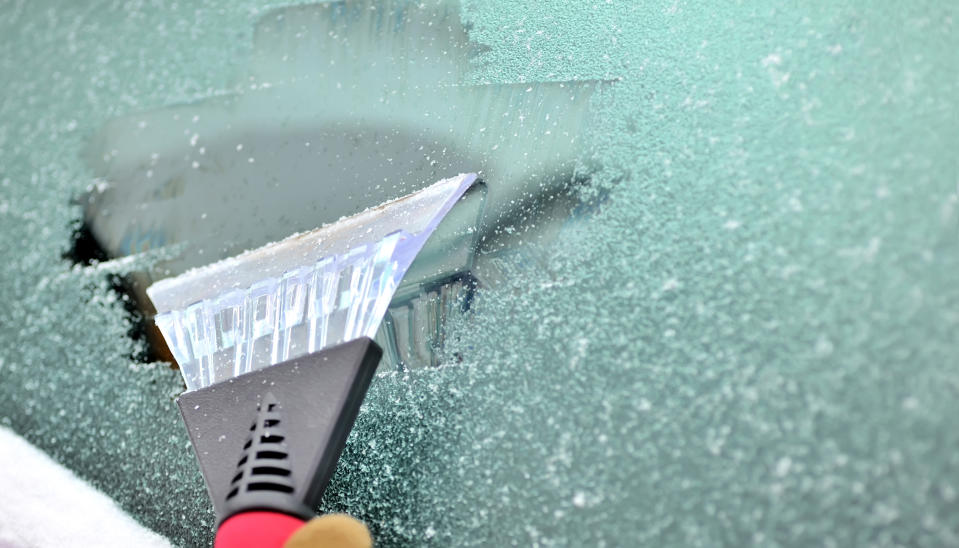 Having to de-ice your windscreen is time consuming.(Getty Images)