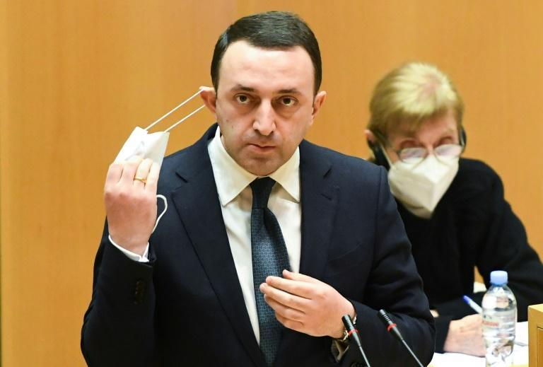 Garibashvili was confirmed as prime minister by parliament on Monday