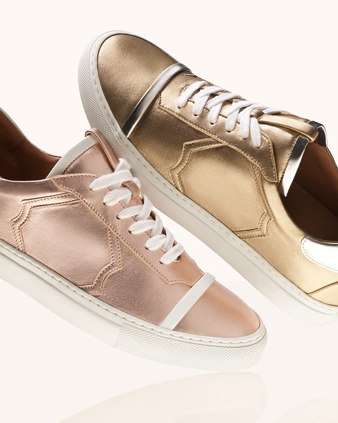 Malone Souliers' Musa style sneaker. - Credit: Courtesy of Malone Souliers
