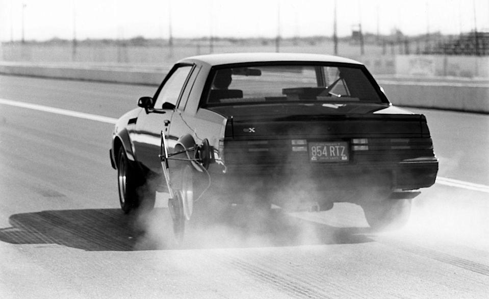 <p>At the track, <em>C/D</em> extracted a 4.7-second zero-to-60-mph time from the GNX, proving that while the Grand National was menacing, the GNX was absolutely sinister. The privilege of wielding that power didn't come cheap, however, the GNX commanding an $11,000 premium over the base price of a Grand National. Price, performance, and evil aesthetics aside, the GNX ultimately stood for something that was in seriously short supply in 1987: a domestic car brand kicking ass simply because it could. <em>—Andrew Wendler</em></p>