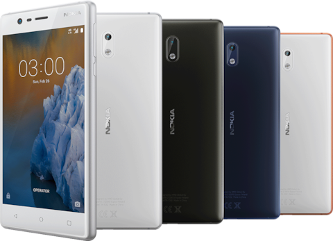 Nokia 3 cheap smartphone