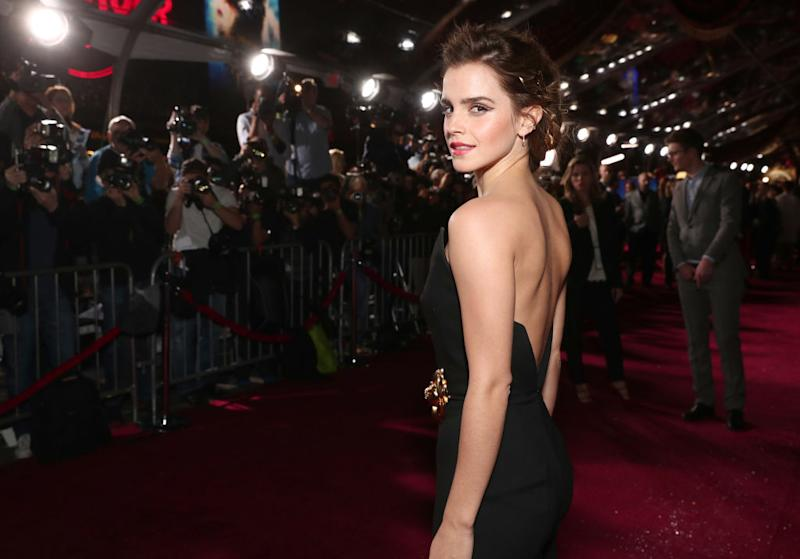 Emma Watson turns 30 today! Pictured here at the Beauty and the Beast premiere in March 2017. (Getty Images)