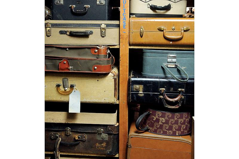 What goes in a suitcase