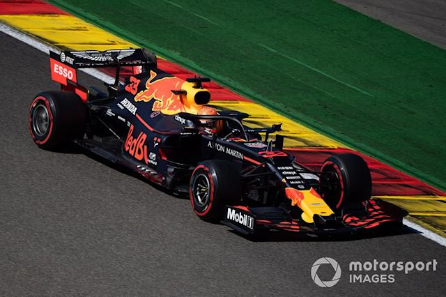 "Max Verstappen, Red Bull Racing RB15 <span class=""copyright"">Simon Galloway / Sutton Images</span>"