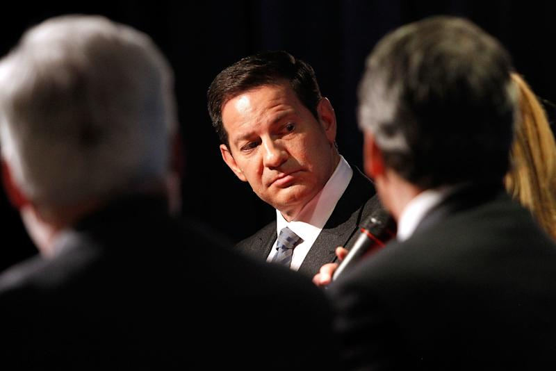 Mark Halperinhas been accused of sexually harassing women while he worked at ABC News, according to a report from CNN. (Paul Morigi via Getty Images)