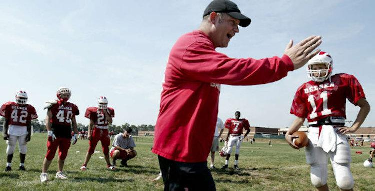Popular New Jersey prep football coach Sal Marchese has reportedly been placed on administrative leave pending an investigation into academic improprieties -- Philly.com