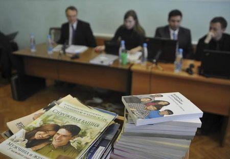 Russian justice ministry moves to declare Jehovah's Witnesses an extremist group