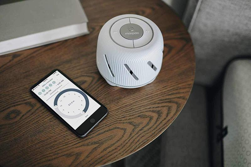 Control your Marpac Connect white noise machine from your phone. (Photo: Amazon)
