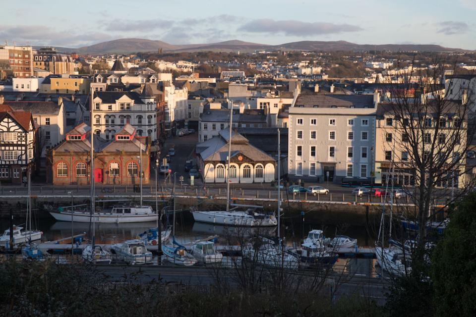 The Isle of Man's capital Douglas. Source: Getty