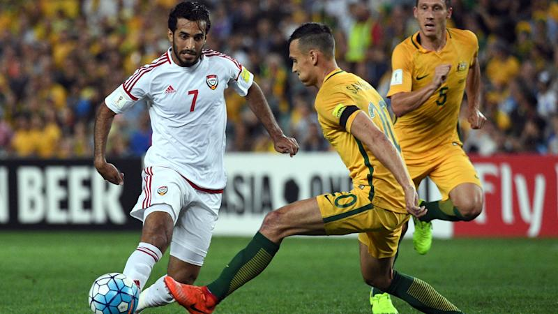 Ali Mabkhout Australia v United Arab Emirates World Cup qualifying 28032017