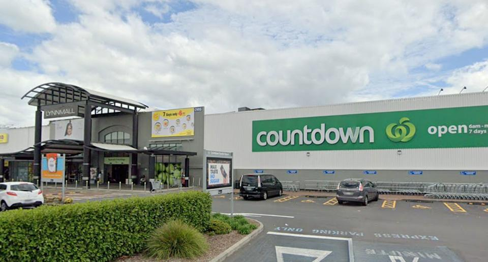 The New Lynn supermarket on Friday where a man was shot dead after attacking several people. Source: Google Maps