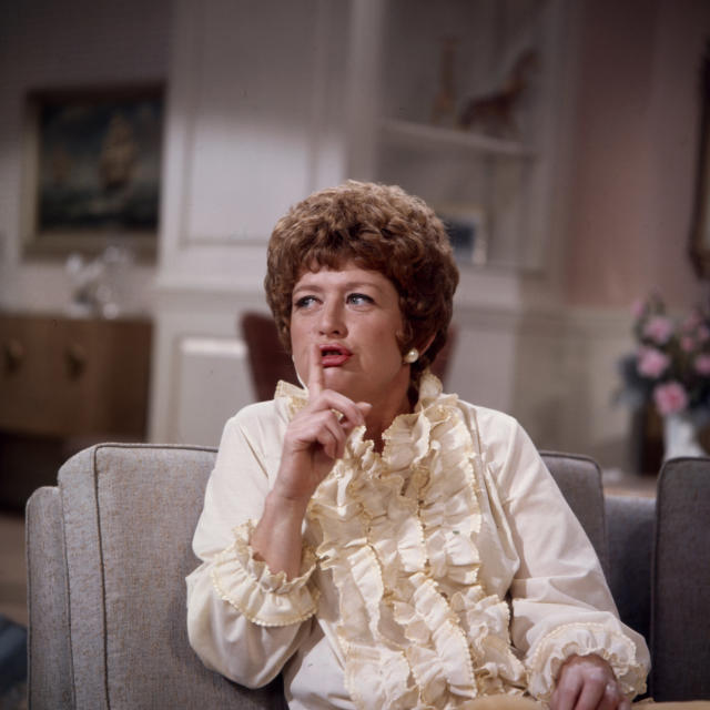 Peggy Pope appearing in the Walt Disney TV show The Neighbors (Credit: Walt Disney Television via Getty Images)