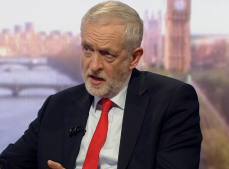 Jeremy Corbyn appeared on the Andrew Marr Show to discuss his election pledges: BBC