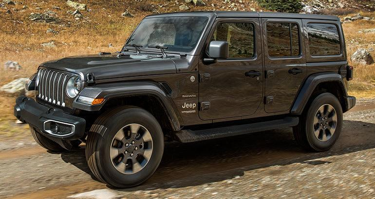 all new 2018 jeep wrangler modernizes an off roading icon. Black Bedroom Furniture Sets. Home Design Ideas